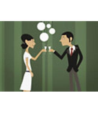 Lenticulaire Kaart Bewegend | Champagne, wat anders?