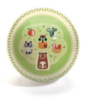 Djeco Djeco | Plastic Ball | Apple | 15 cm | 2+