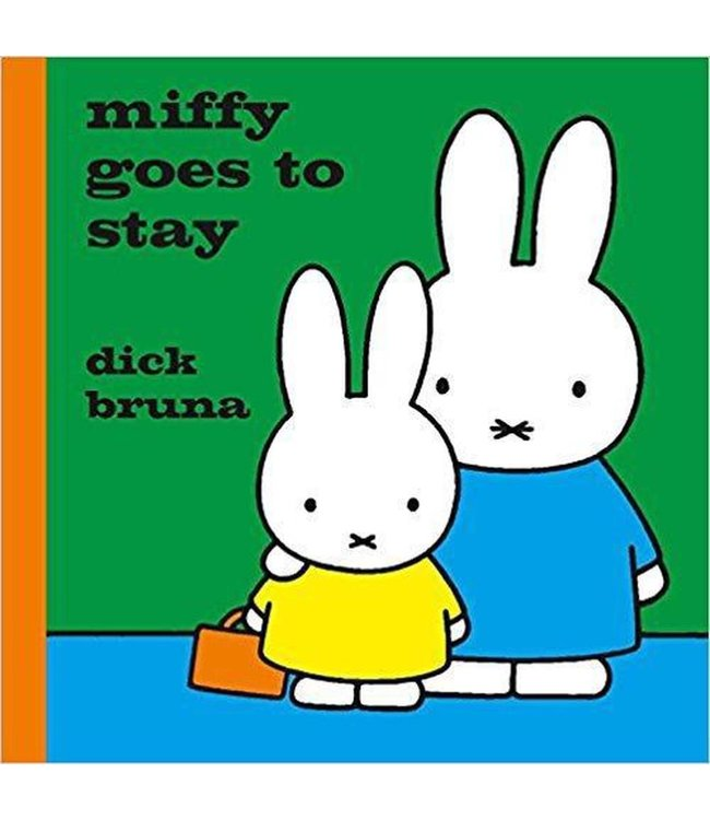 Miffy Goes To Stay  (english book)