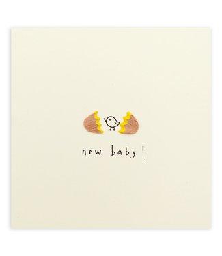 Pencil Shavings Cards by Ruth Jackson | Broken Egg | New Baby