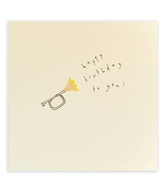 Pencil Shavings Cards by Ruth Jackson | Trumpet | Happy Birthday To You!