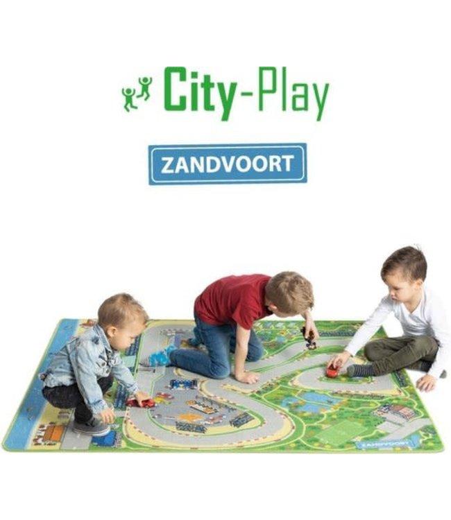 City-Play Speelkleed Circuit van Zandvoort  130 x 180 cm