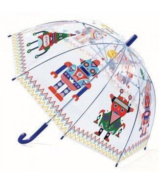 Djeco Djeco | Paraplu 70 cm | Robots | 3+