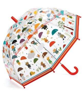 Djeco Djeco | Paraplu 70 cm | Onder de Regen | 3+