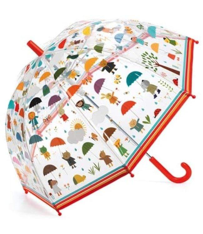 Djeco | Paraplu 70 cm | Onder de Regen | 3+