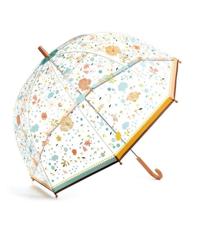 Djeco | Paraplu | 80 cm | Bloemetjes | 3+