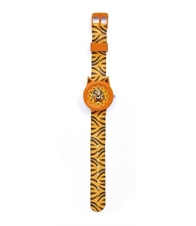 Djeco   Horloge   Tijger   5+