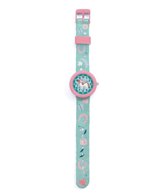 Djeco | Horloge | Paard | 5+