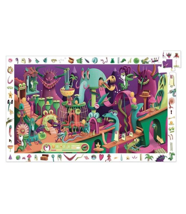 Djeco | Observation Puzzle | Videogame | 200 stukjes | 6+