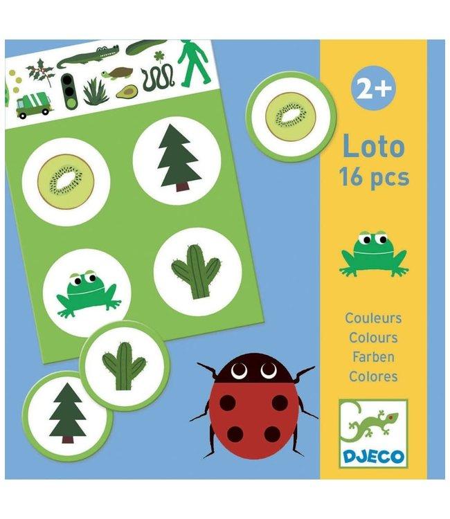 Djeco   Lotto   16 Delig   2+