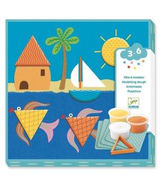 Djeco Djeco   Speeldeeg   Prints and Shapes   3-6 jaar