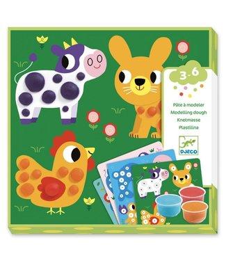Djeco Djeco   Speeldeeg   Dough Circles   3-6 jaar