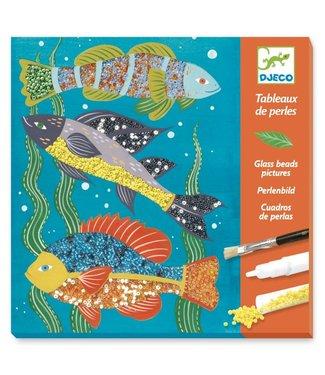 Djeco Djeco | Glass Beads Pictures | Zoologie | 6- 11 jaar
