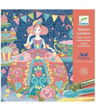 Djeco Djeco | Glitter Schilderijen | Daydream |  7 - 12 jaar