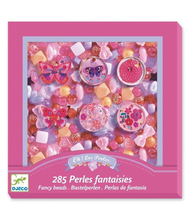 Djeco | Kralen | Fancy Beads | Vlinders | 285 delig | 4-8 jaar