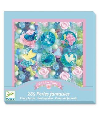 Djeco Djeco | Kralen | Fancy Beads | Vogels | 285 delig | 4-8 jaar