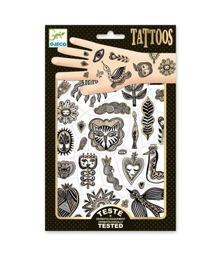 Djeco Djeco | Body Art | Tattoos | Metal | Golden Chic | 3+