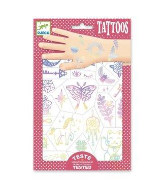 Djeco Djeco | Body Art | Tattoos | Iriserend | Lucky Charms | 3+
