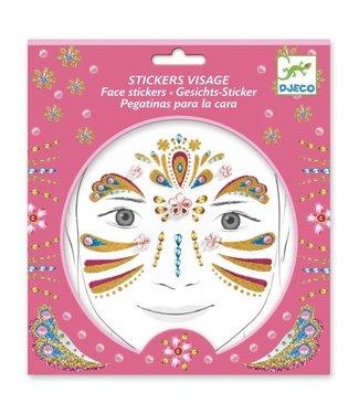 Djeco Djeco | Body Art | Glitter Stickers | Golden Princess | 3+