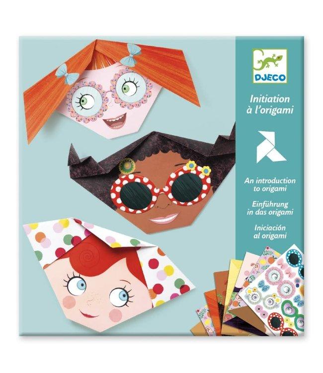 Djeco   Origami   Gezichten   4-8 jaar