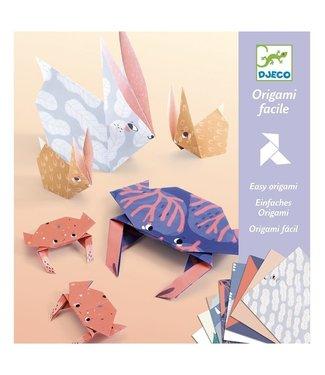 Djeco Djeco | Eenvoudige Origami | Dieren Familie | 6-11 jaar