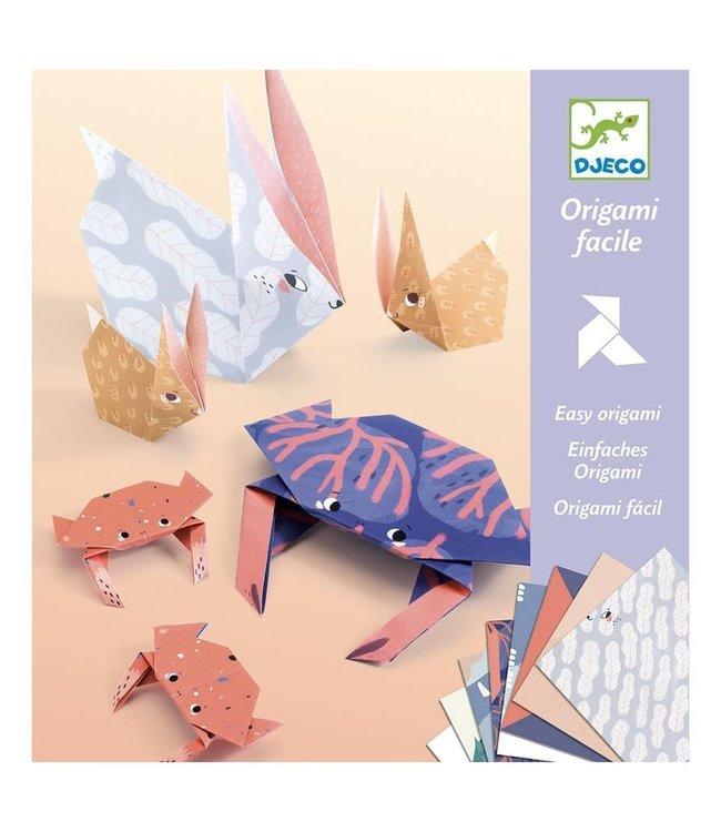 Djeco | Eenvoudige Origami | Dieren Familie | 6-11 jaar