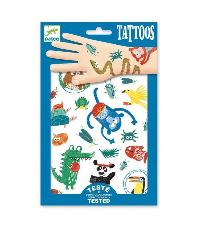 Djeco | Body Art | Tattoos | Snouts | 3+