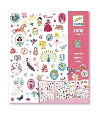 Djeco Djeco | 1000 Stickers | Sweet | 4+