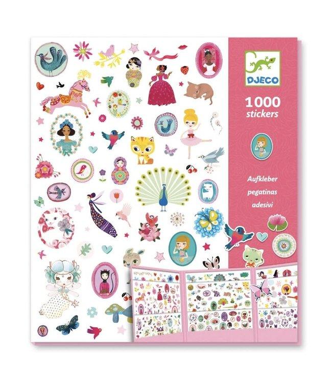 Djeco | 1000 Stickers | Sweet | 4+