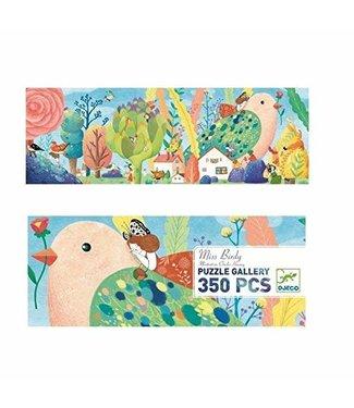 Djeco Djeco   Gallery Puzzle   Miss Birdy   350 pieces   7+