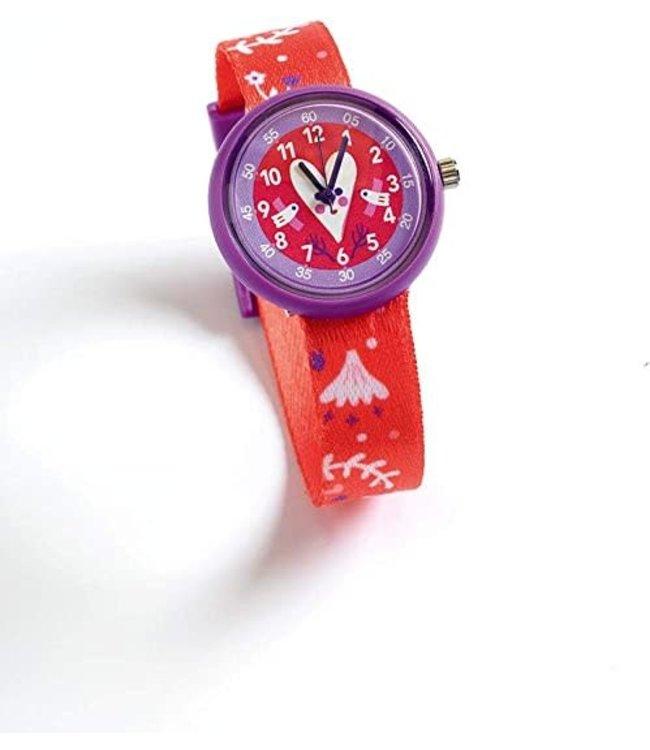 Djeco | Horloge | Hart | 5+