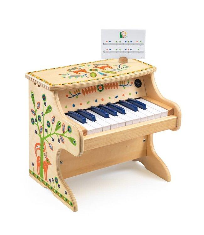 Djeco | Animambo | Electrische Piano | 18 Toetsen | 3+