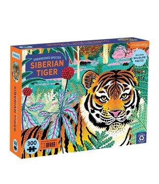 Mudpuppy Mudpuppy   Puzzle   Endangered Species   Siberian Tiger   300 stukjes   7+