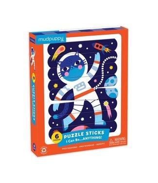 Mudpuppy Mudpuppy | Puzzle Sticks | I Can Be...ANYTHING | 24 delig | 3+