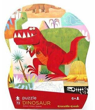 Crocodile Creek Crocodile Creek | Shaped Box Puzzle | Dinosaur | 72 delig | 6+