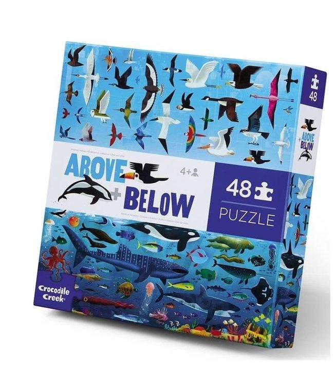 Crocodile Creek   Puzzle   Above & Below   Sea & Sky   48 stukjes   4+