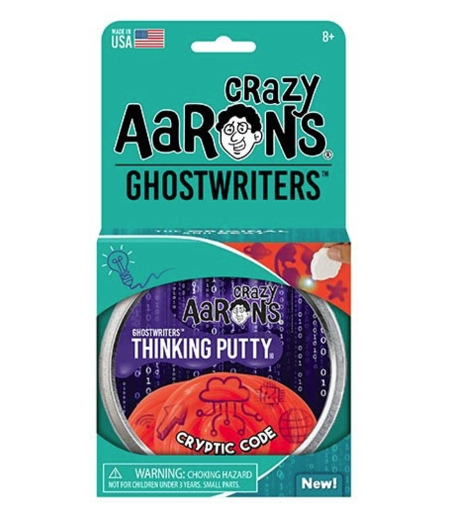 Crazy Aarons   Thinking Putty   Ghostwriter   Cryptic Code   8+