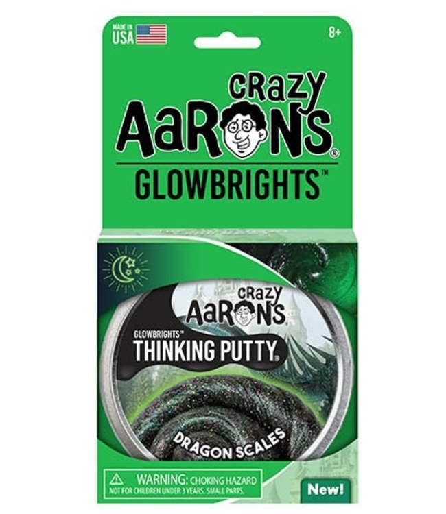 Crazy Aarons | Thinking Putty | Glowbrights | Dragons Scale | 3+