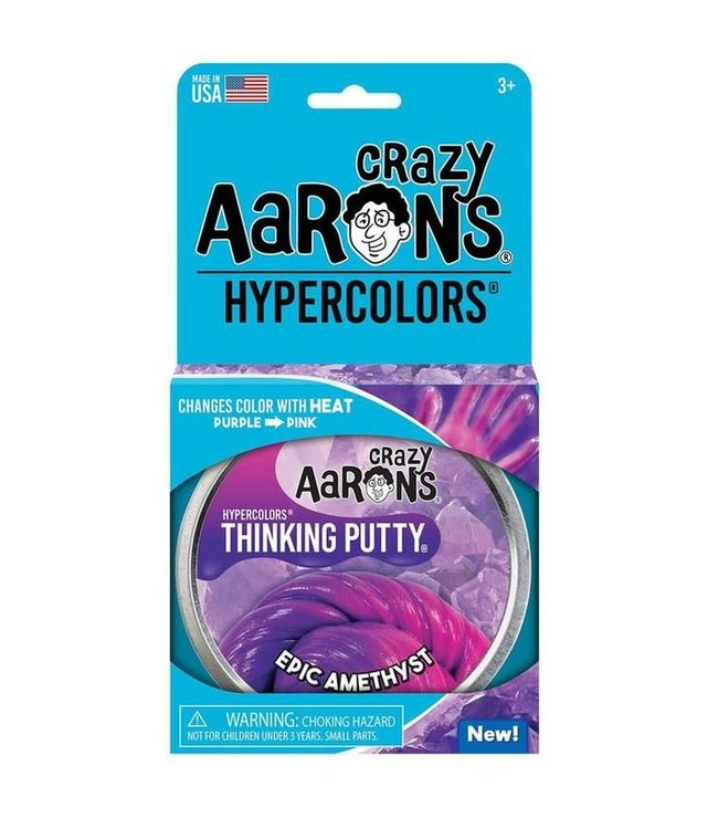 Crazy Aarons | Thinking Putty | Hypercolours | Epic Amethyst | 3+