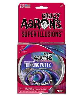 Crazy Aarons Crazy Aarons | Thinking Putty | Super Illusions | Super Scarab | 3+