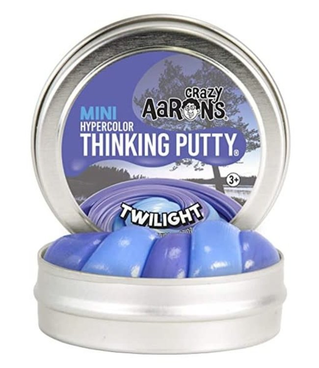Crazy Aarons | Mini | Thinking Putty | Hypercolor | Twilight | 3+