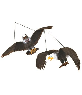 Keykraft Keykraft | Rubber Roofvogel aan Touw | 32 cm | 3+