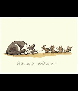 Two Bad Mice | Anita Jeram | Do IT… Do It… Don't Do It!