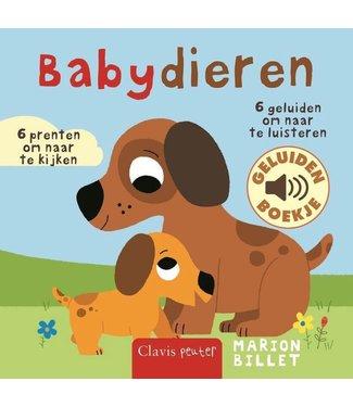 Clavis Clavis | Geluidenboekje | Babydieren | 1+