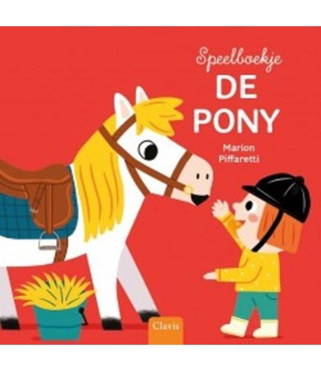 Clavis | Speelboekje | De pony | 2+
