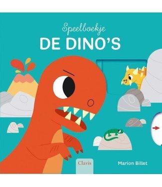 Clavis Clavis | Mijn Speelboekje | De Dino's (karton) | 1+