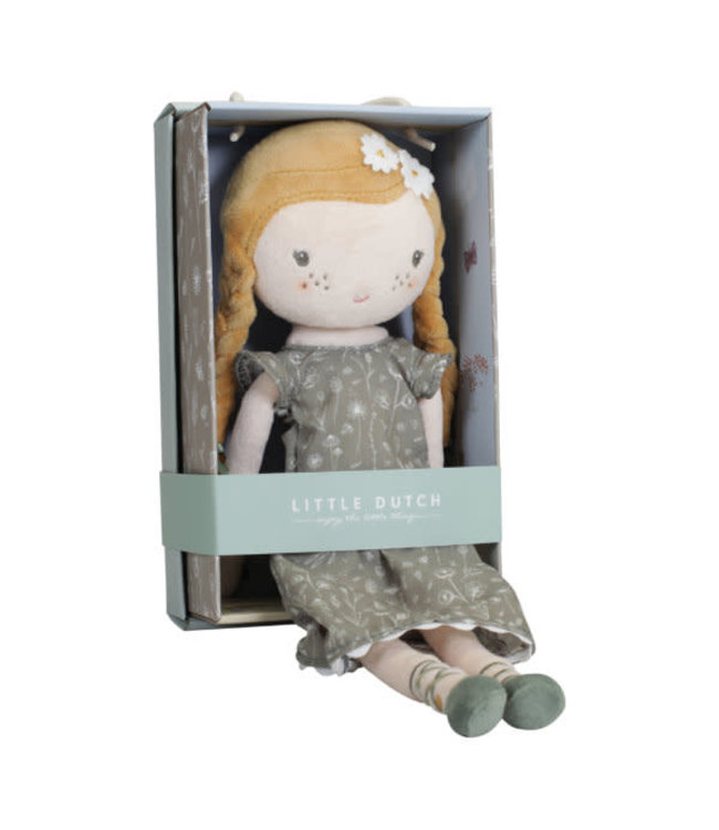 Little Dutch | Stoffen Knuffelpop | Julia | 35 cm | 1+