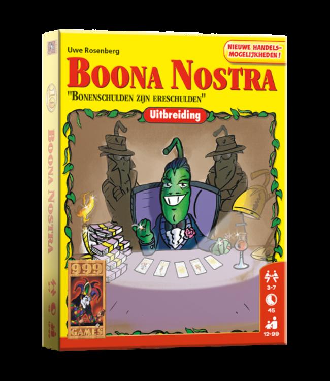 999 Games | Kaartspel | Boonanza | Uitbreiding | Boona Nostra | 12+