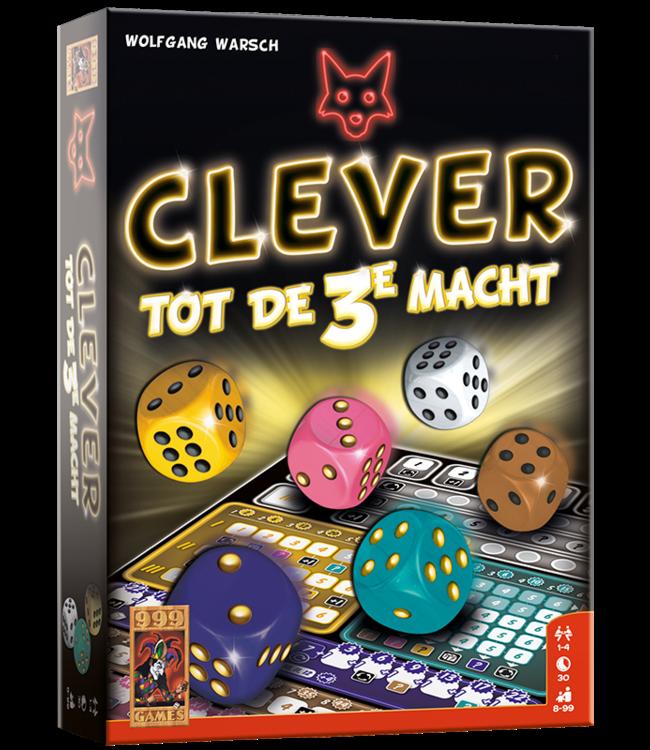 999 Games   Dobbelspel   Clever tot de 3e Macht   8+