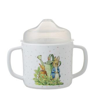 Petit Jour Petit Jour   Peter Rabbit   Mok Met Twee Oren   met Afneembare Deksel   160 ml   +6 mnd